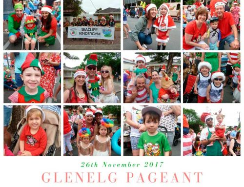 Seacliff KinderGym at the Glenelg Pageant 2017