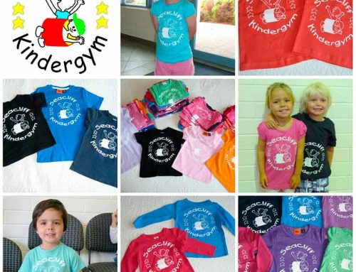 Seacliff KinderGym t-shirt order