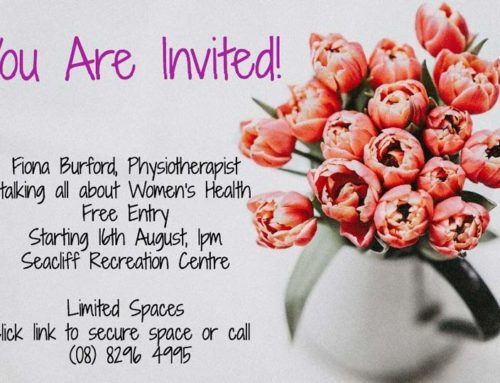 Fiona Burford Physiotherapist talking about Womens Health