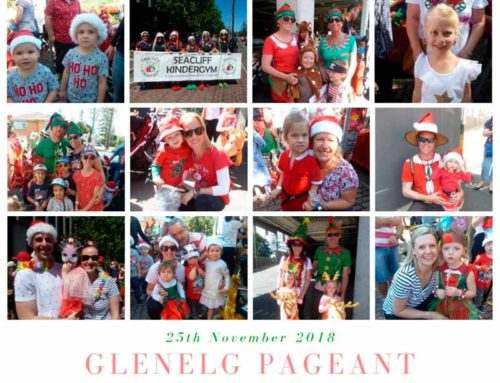 Seacliff KinderGym at the Glenelg Pageant 2018