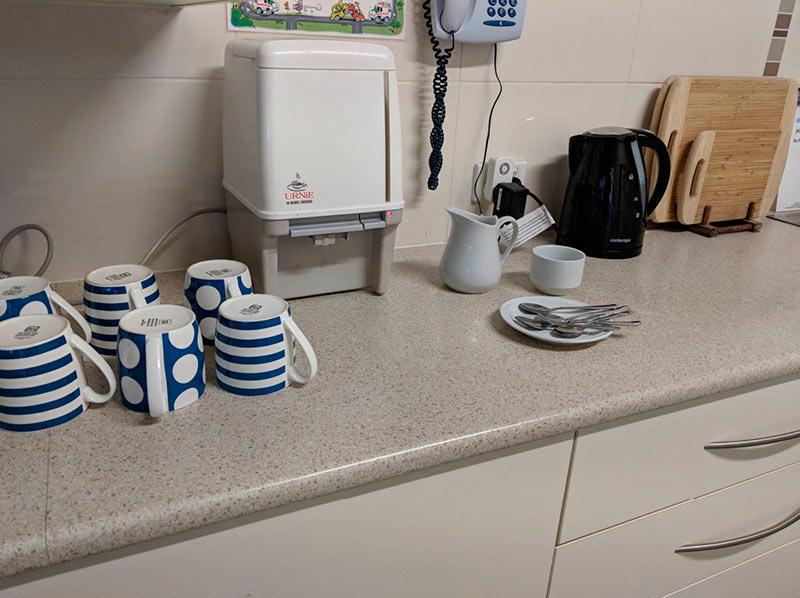 Seacliff Kindergym - kitchen facilities