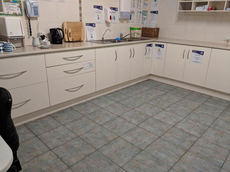 Seacliff Kindergym - kitchen