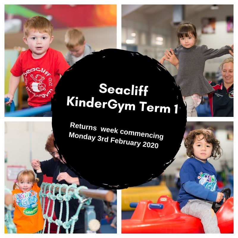 seacliff kindergym Term 1 start date 2020