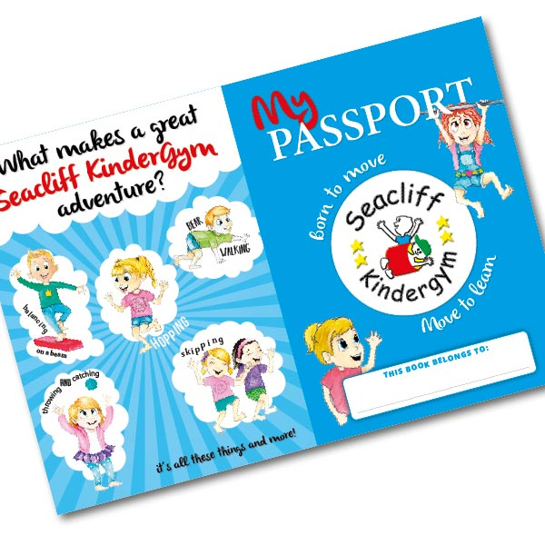 Seacliff Kindergym - Passport Book Cover